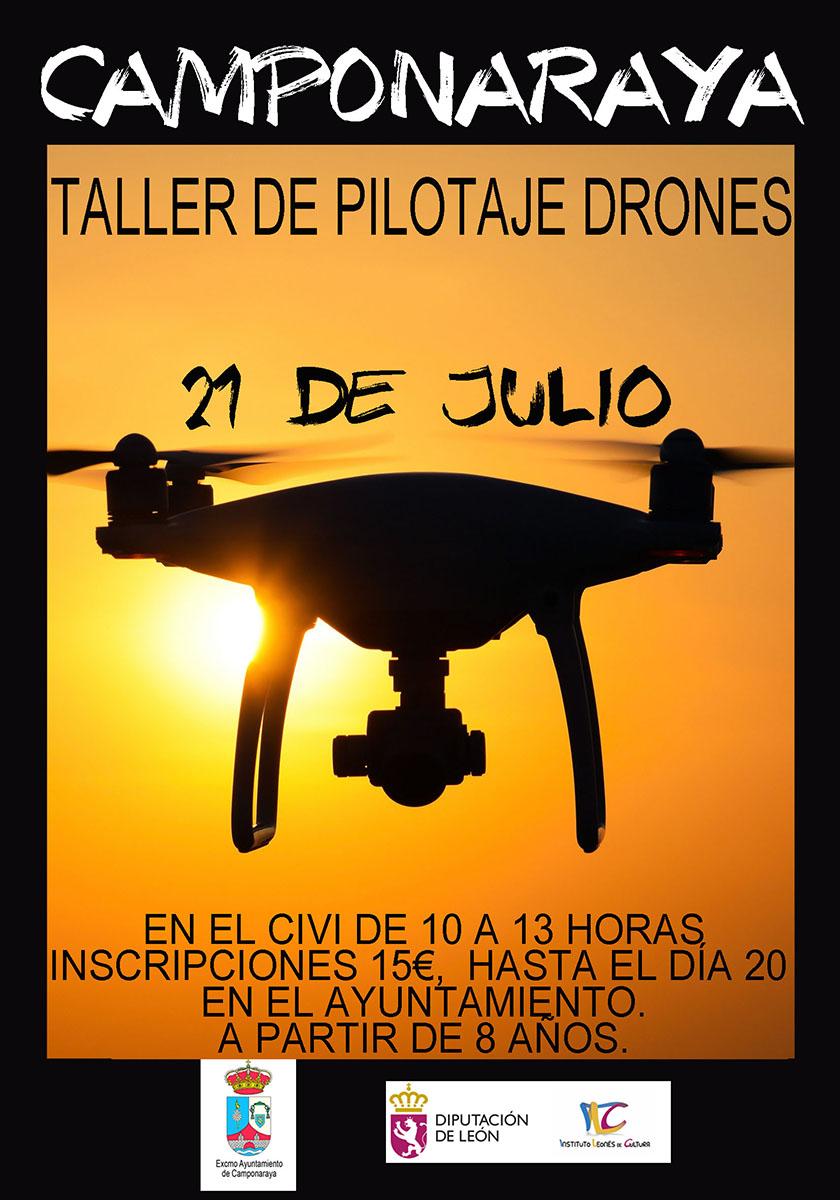 TALLER DE PILOTAJE DRONES 1