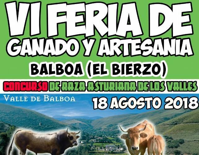 La Feria Ganadera y artesana de Balboa celebra su sexta edición 1