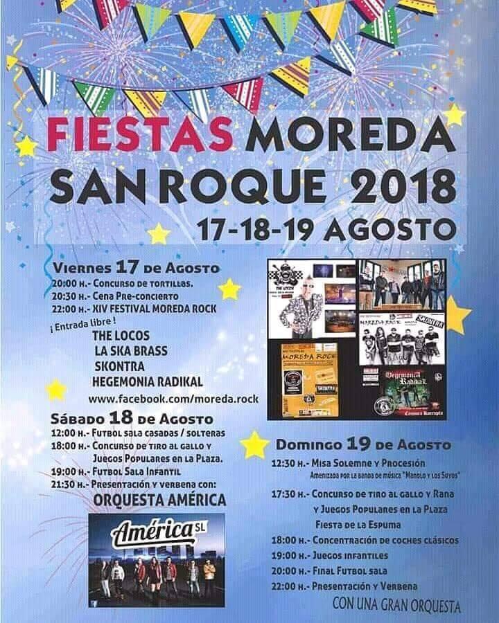 Fiestas de San Roque en Moreda 1
