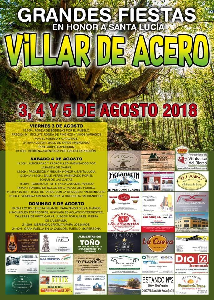 Grandes Fiestas en Villar de Acero 1
