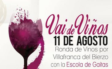 'Vaideviños' una ronda por Villafranca del Bierzo acompañados por la Escola de gaitas 8