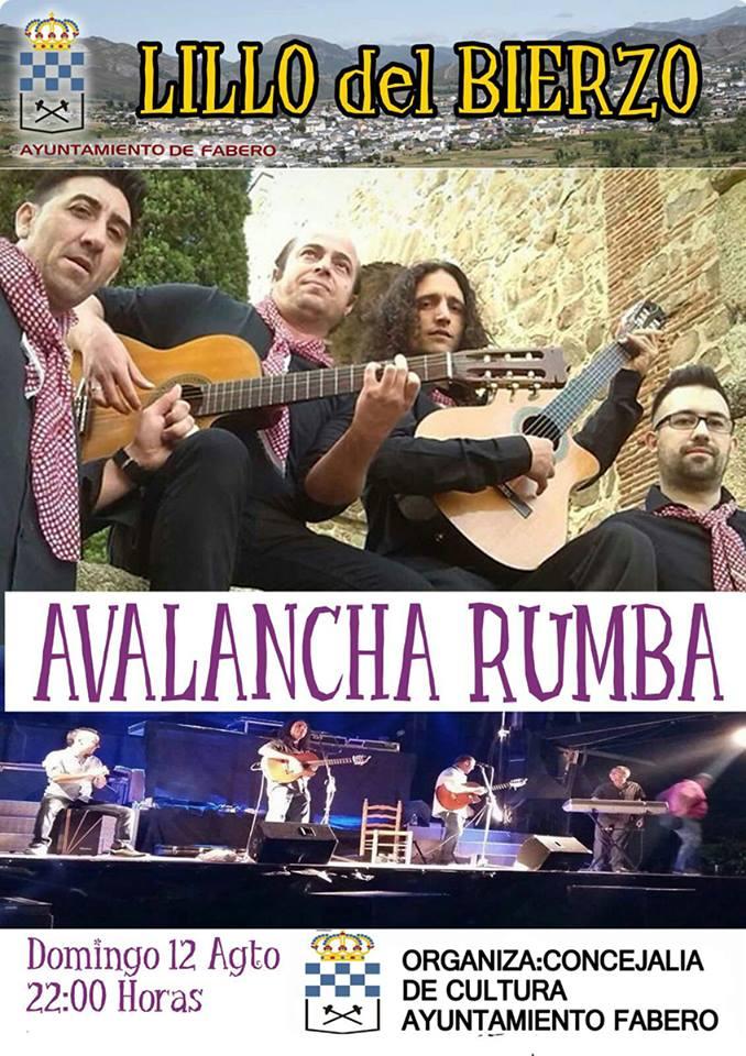 Concierto de Avalancha Rumba en Lillo del Bierzo 1