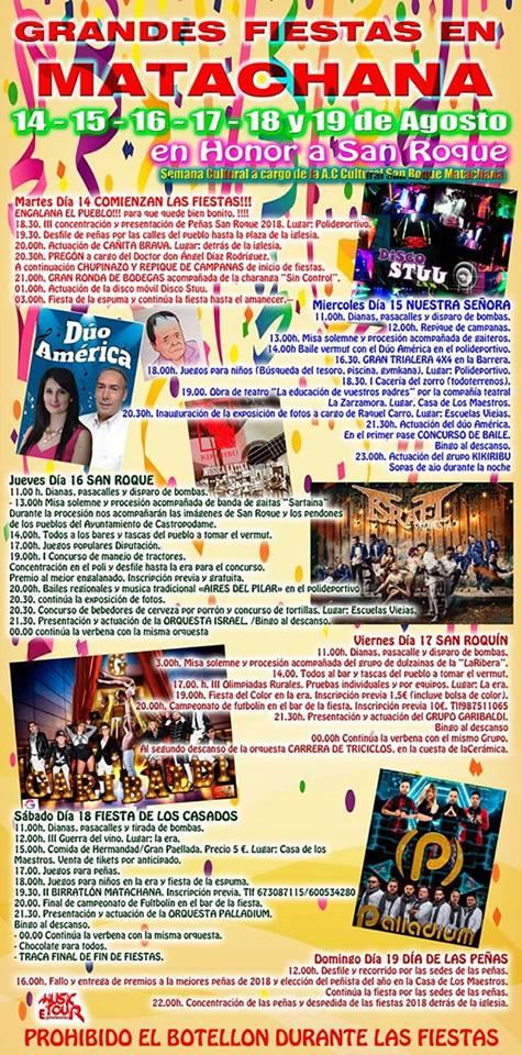 Matachana celebra San Roque 2018 1