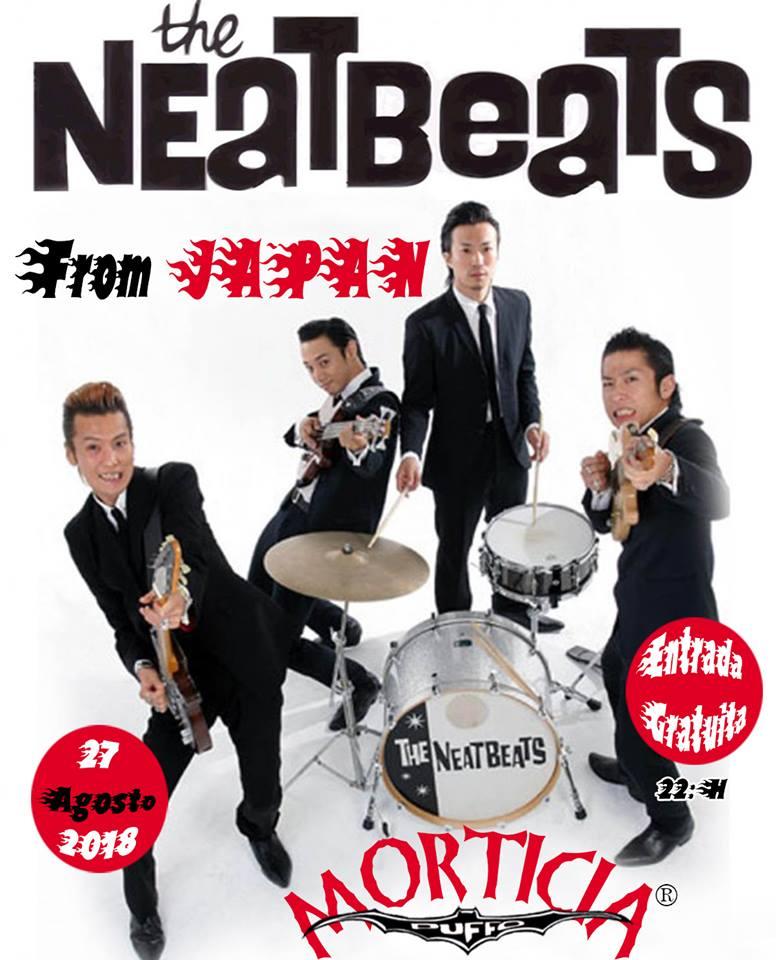 Concierto de los japoneses Neatbeats en Morticia 1