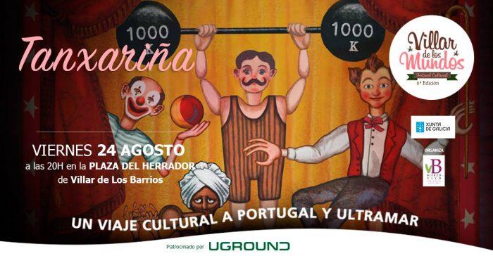 Titiricircus, espectáculo de Títeres dentro de las actividades de Villar de los Mundos para este viernes 1