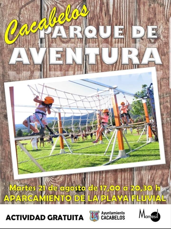 Cacabelos organiza un parque de aventura para este martes 1