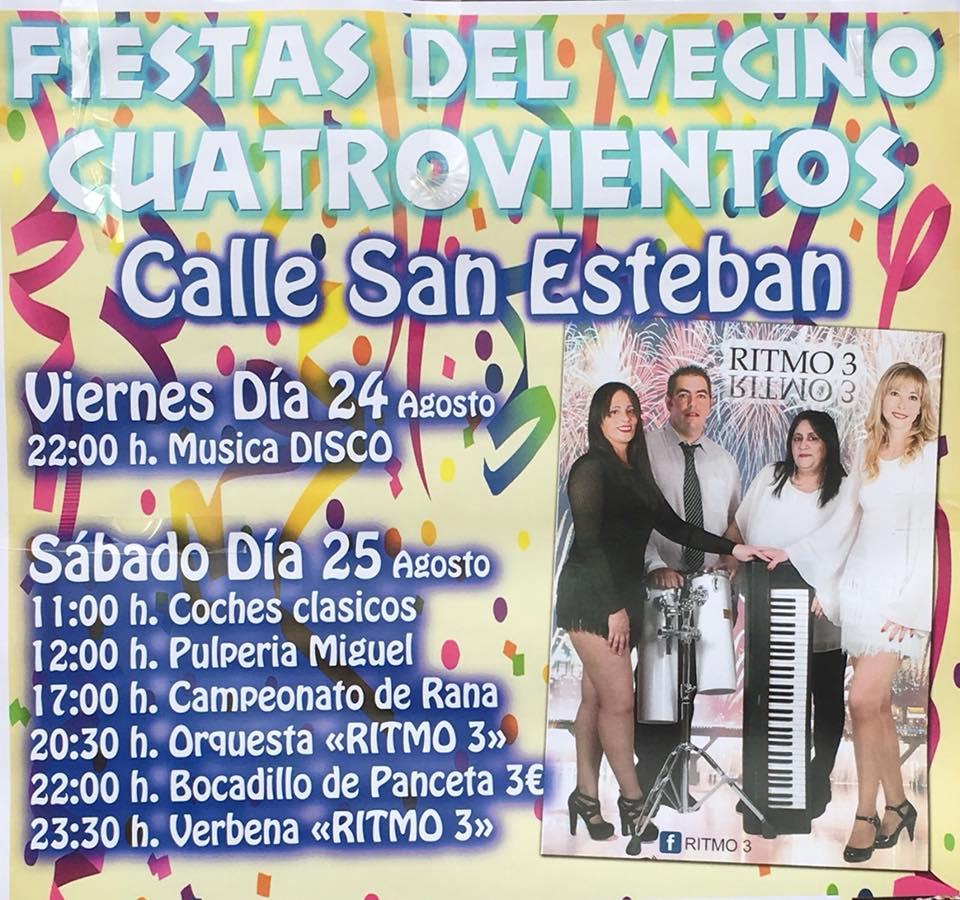 El barrio de Cuatrovientos estrena fiestas del vecino en agosto 1