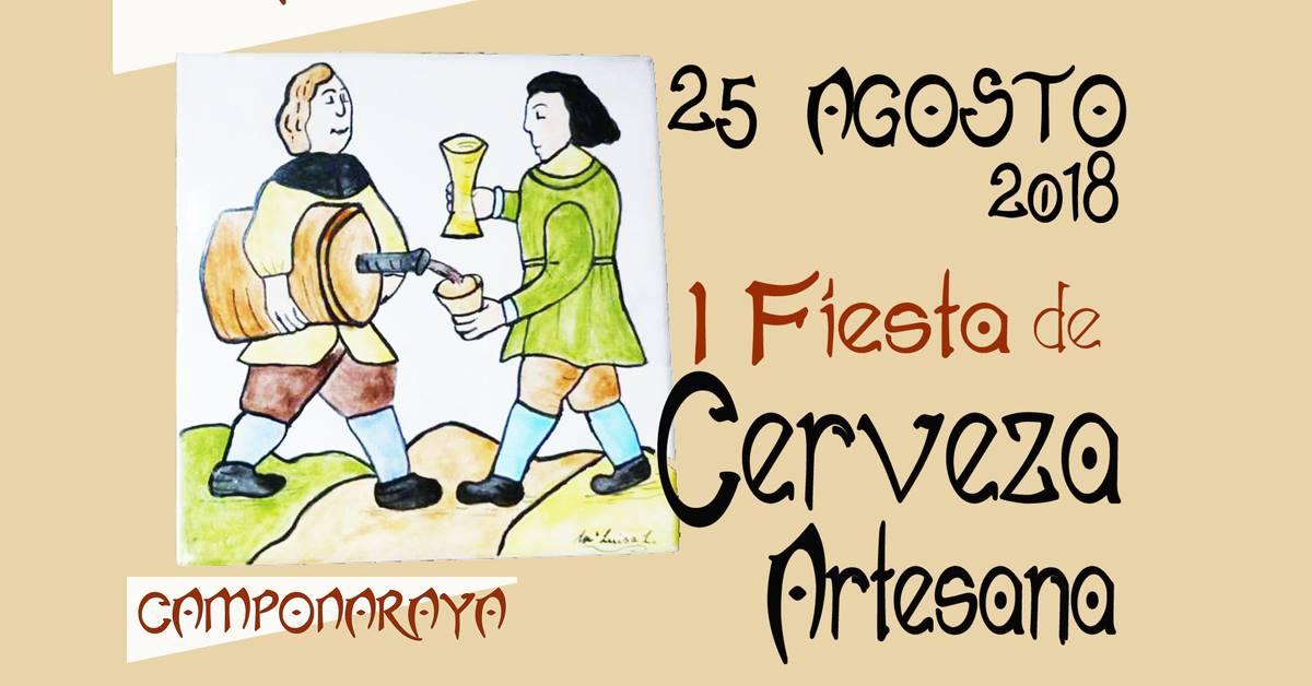 Camponaraya organiza la I Feria de la cerveza artesana 1