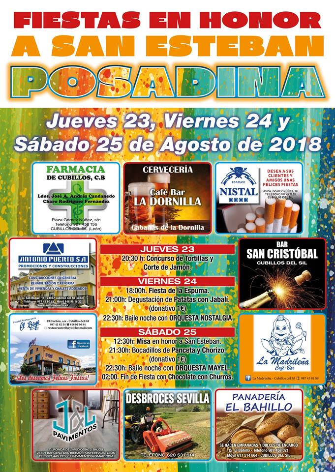 Posadina celebra sus fiestas este fin de semana 1