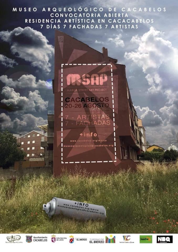 MSAP [Marca Street Art Project] El arte se expresará en las fachadas de Cacabelos 1