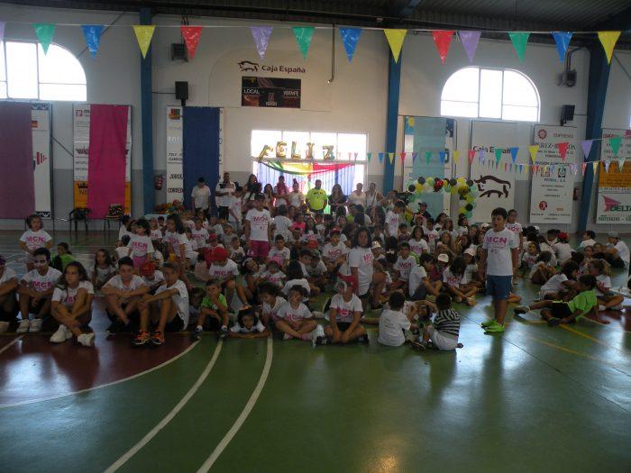 1.200 participantes durante 9 semanas de diversión en los campamentos MCN de Camponaraya 1