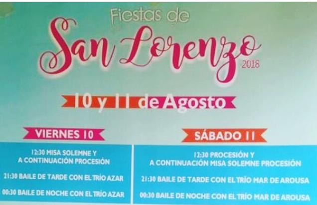 Fiestas en San Lorenzo 2018 1