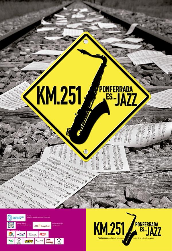 KM 251 2018. Ponferrada es JAZZ, El mes de agosto ponferradino se cierra en clave musical 1