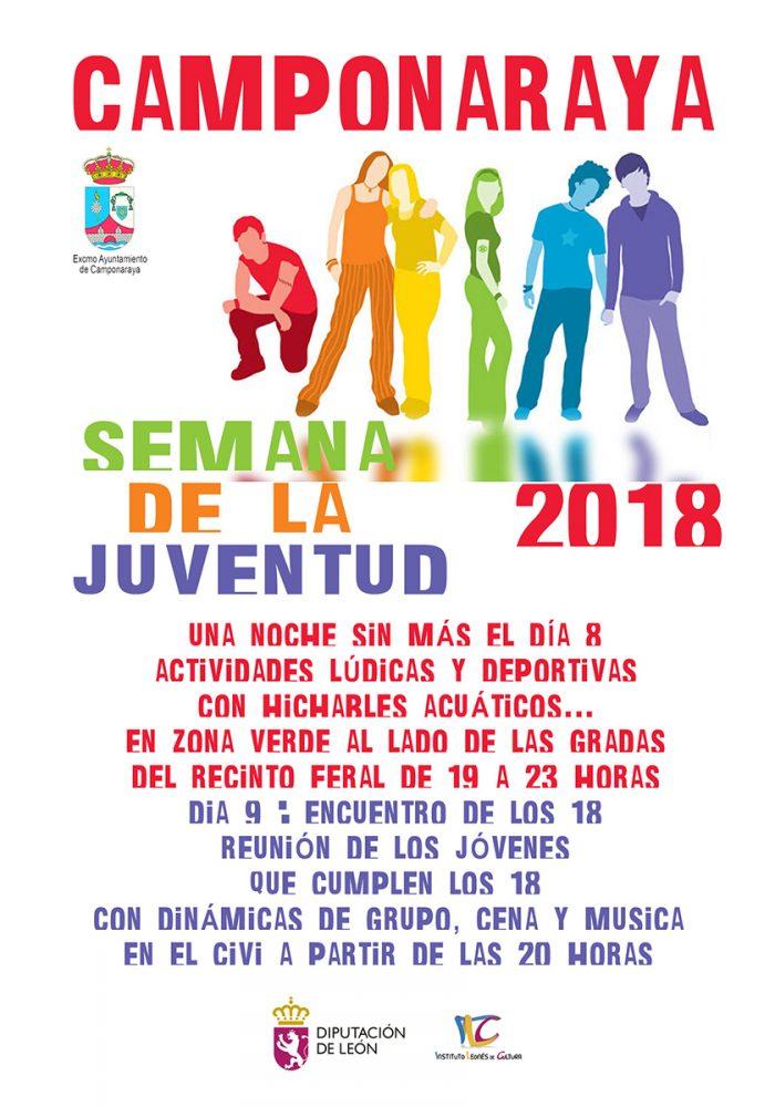 Camponaraya organiza su Semana de la Juventud 1