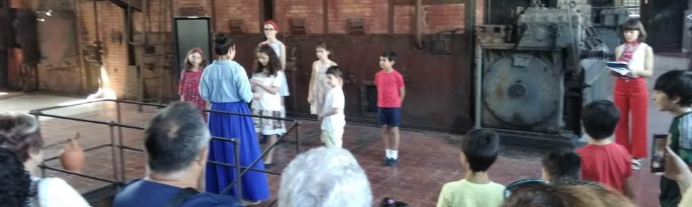 Sábado de visitas teatralizadas en el Museo de la Energía 1