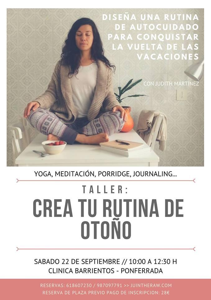 Clínica Barrientos plantea el taller de autocuidado 'Crea tu Rutina de Otoño' 1