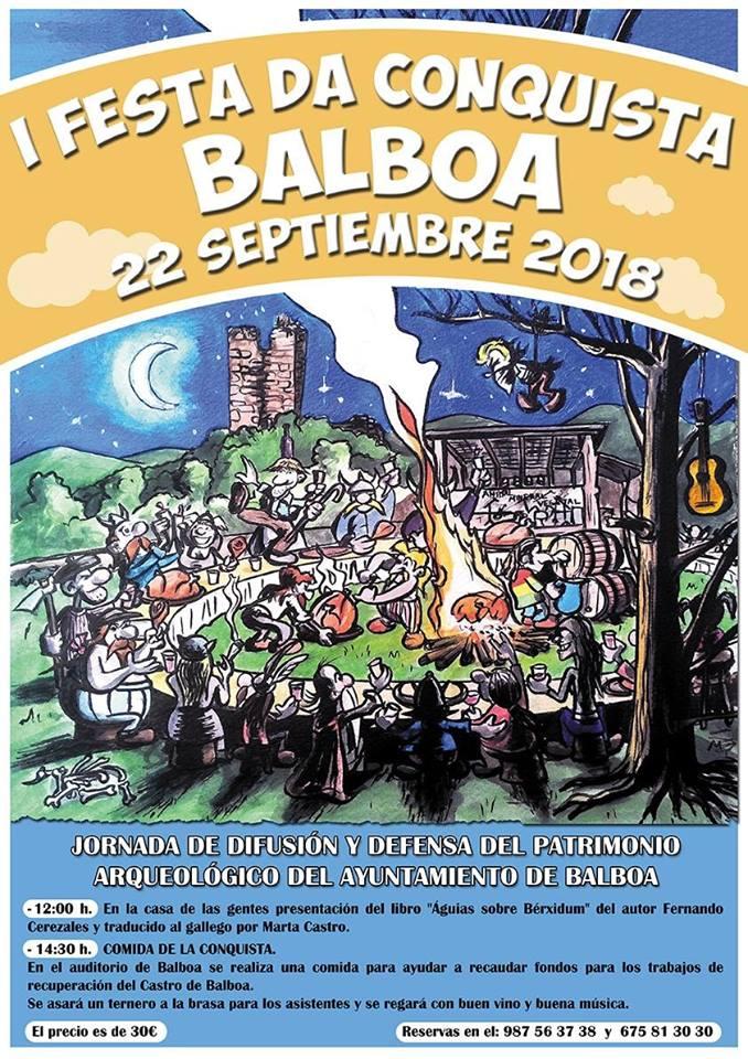 Balboa organiza la I Festa da Conquista una reivindicación para la recuperación del Patrimonio Arqueológico de Balboa 1