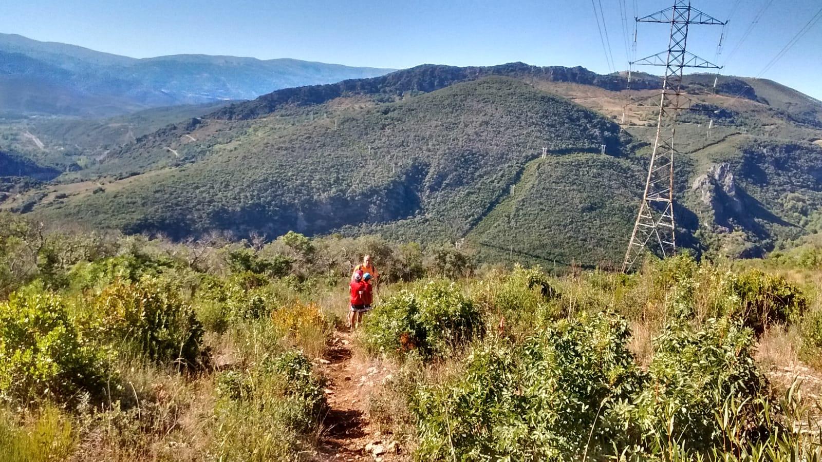 Ruta de los Zufreiros del Frade en Lago de Carucedo 15