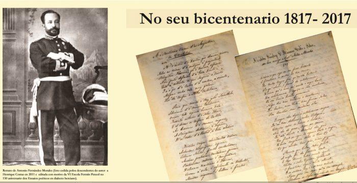 La web del Consejo Comarcal incorpora contenido en gallego para conmemorar el aniversario del nacimiento de Antonio Fernández Morales 1