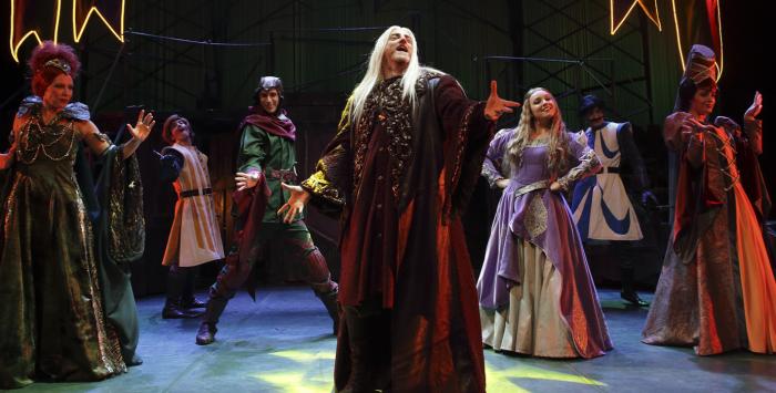 El Bergidum acoge este sábado 'Merlin, un musical de leyenda', un musical de gran formato para público familiar 1