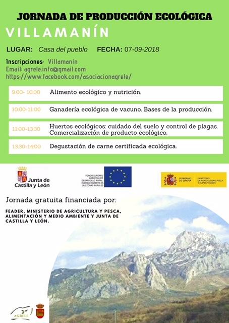 Nueva charla de difusión de producción ecológica en Villamanín 1