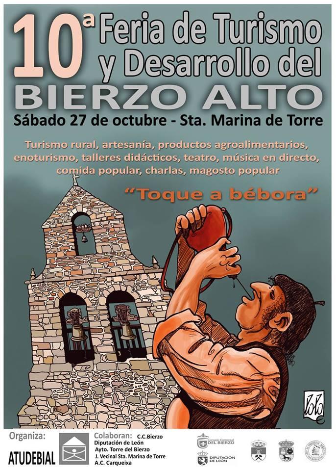 Santa Marina de Torre organiza la 10ª Feria De Turismo Y Desarrollo Del Bierzo Alto 1