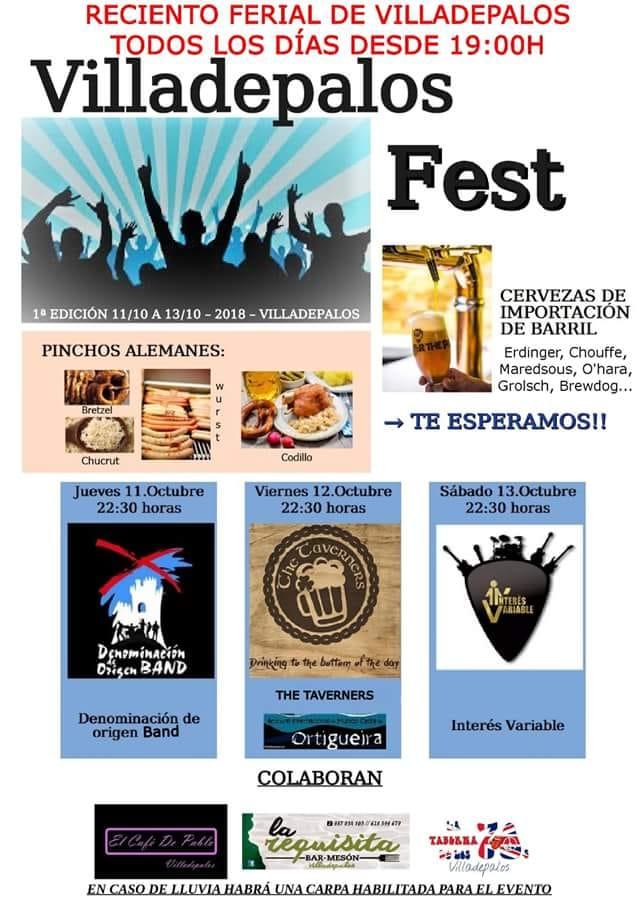 Villadepalos celebra su particular OktoberFest 1