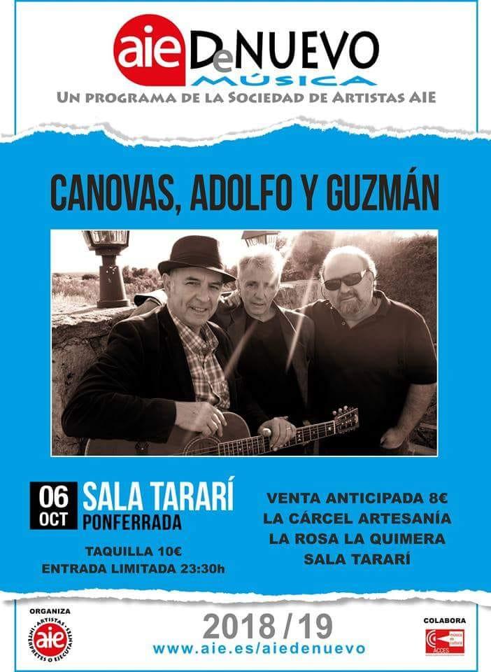 Concierto: Cánovas, Adolfo y Guzmán 1