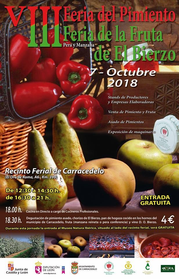8ª Edición de la Feria del pimiento y la fruta del Bierzo 1