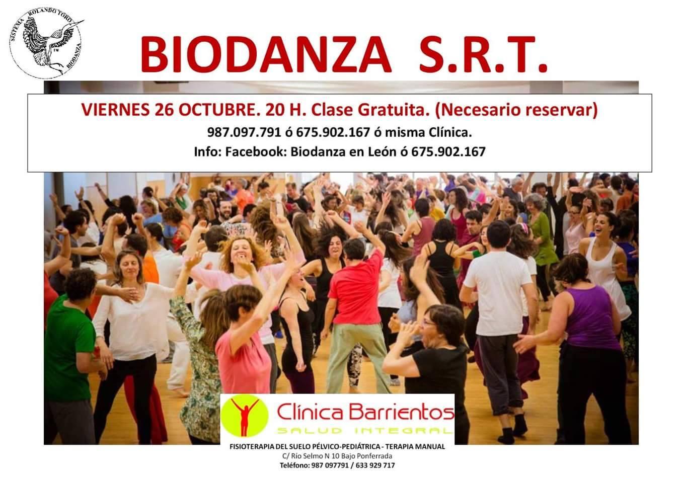 Clase gratuita de Biodanza 1