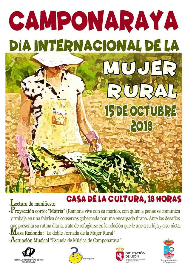 Camponaraya celebra el lunes el Día Internacional de la Mujer Rural con diversas actividades 1