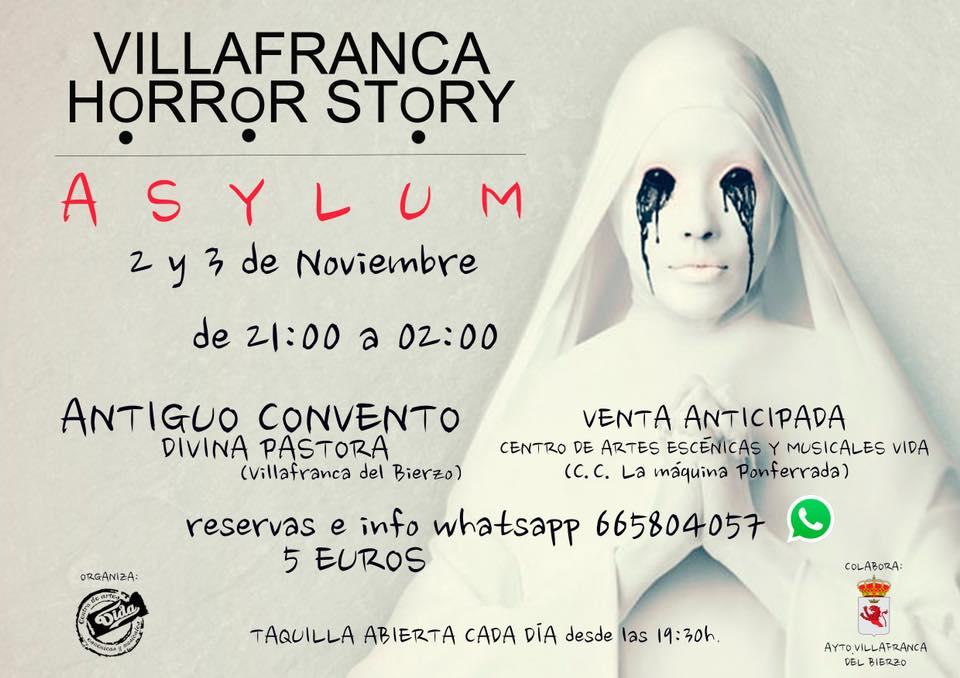 Villafranca también celebra su noche más terrorífica en el Antiguo Convento Divina Pastora 1