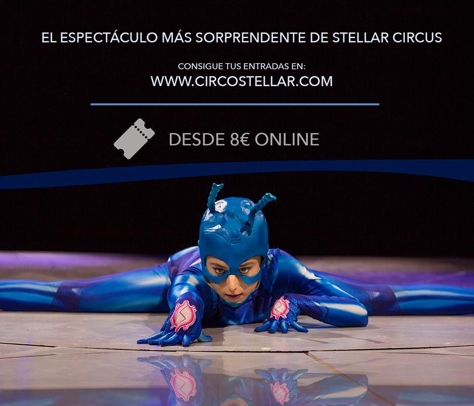 Llega Stellar Circus al recinto ferial de Ponferrada para presentar el espectáculo 'Gravity' 1