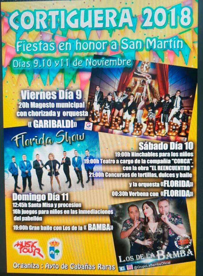 Grandes Fiestas en Cortiguera en honor a San Martín 2018 1
