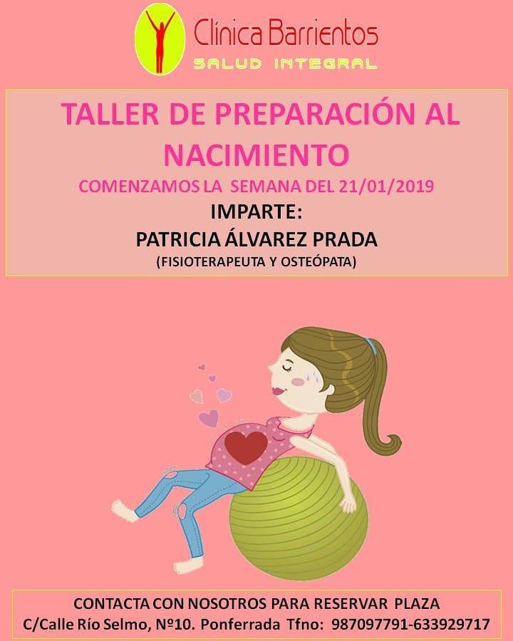 Clínica Barrientos organiza un taller de preparación al nacimiento 1
