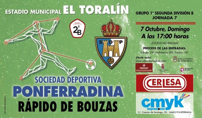 SD Ponferradina vs Club Rápido de Bouzas 1