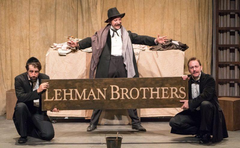 La grandeza y miseria del capitalismo se refleja este jueves en 'Lehman Trilogy' 1