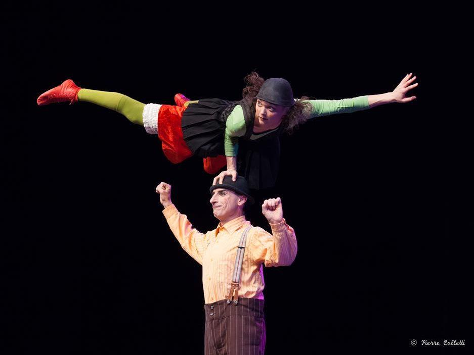 El circo se pasea por el teatro en el ciclo Sin red 1