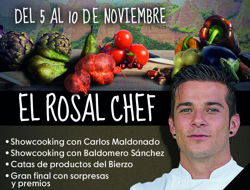 Los productos de El Bierzo son los grandes protagonistas de El Rosal Chef 1