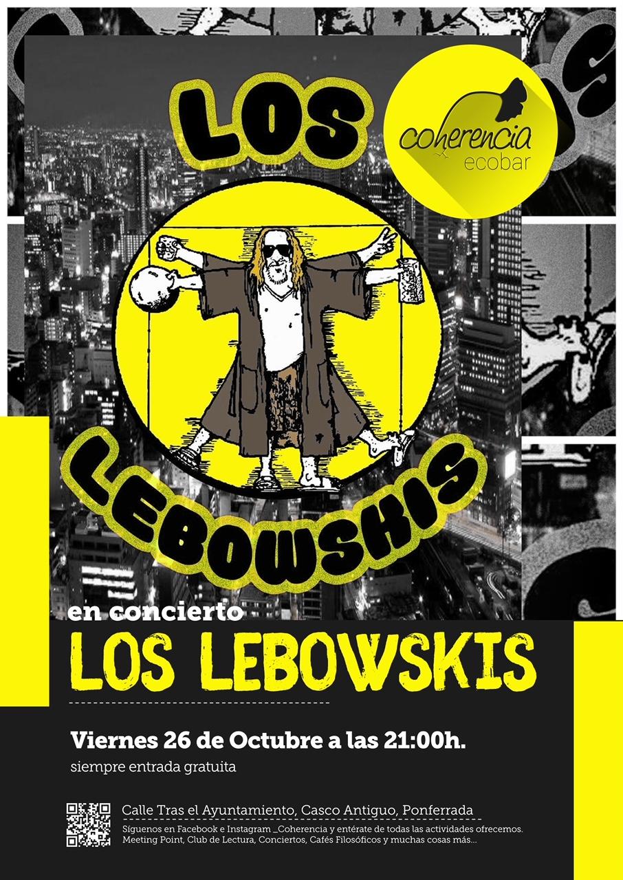 Los Lebowskis este viernes en Coherencia EcoBar 1