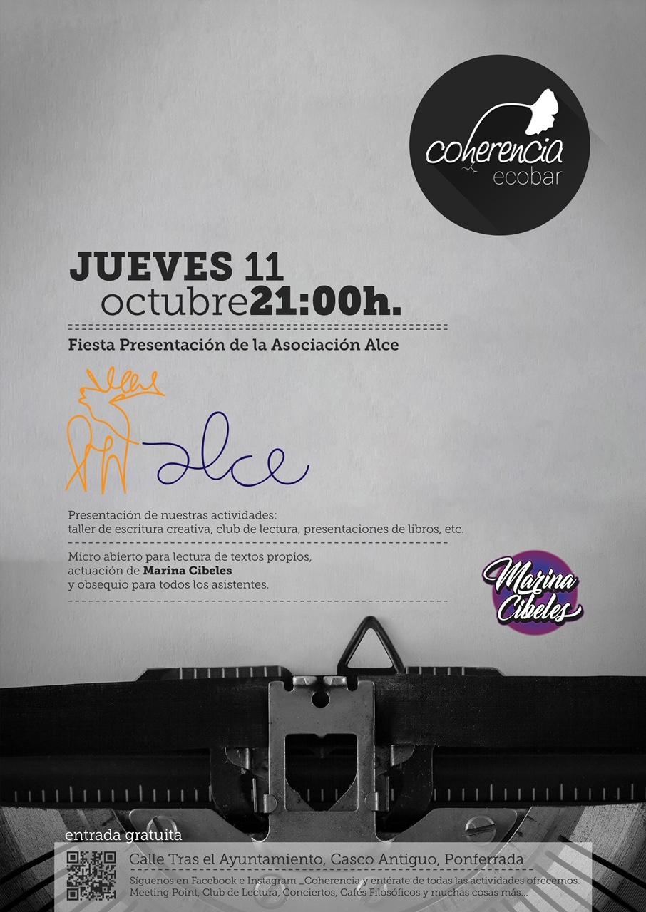 El jueves se presenta la Asociación cultural ALCE con la actuación de Marina Cibeles 1