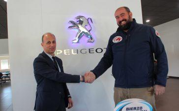 Bierzo Rugby y Garaje Iban (Peugeot) firman un acuerdo de patrocinio 7