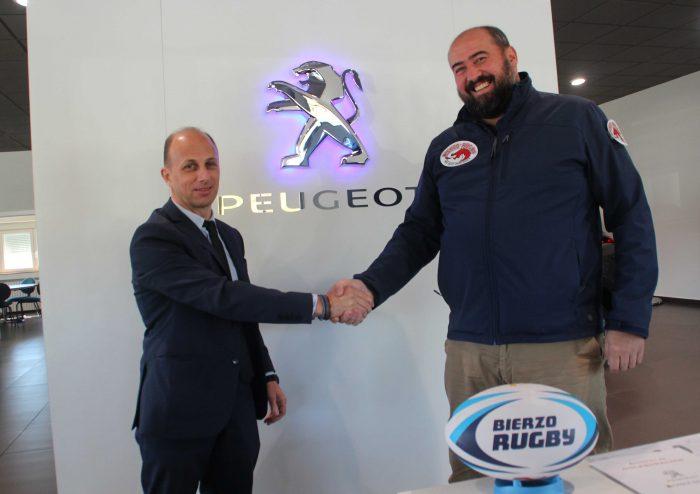 Bierzo Rugby y Garaje Iban (Peugeot) firman un acuerdo de patrocinio 1