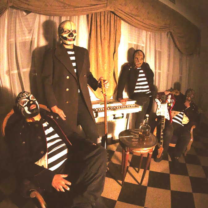 The Abstinenne desde Argentina al Morticia con su sonido surfero 1