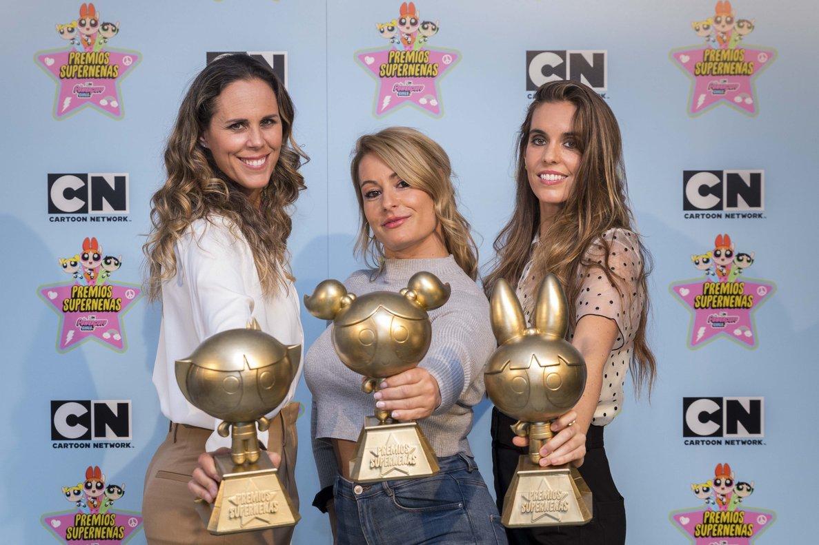 La haltera berciana Lydia Valentín premio 'Supernenas' del canal infantil Cartoon Network 1