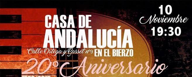 Gala 20 aniversario Casa Cultural de Andalucía en el Bierzo 1