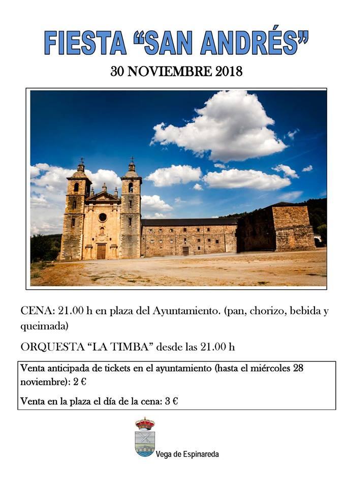 Fiesta de San Andrés 2018 en Vega de Espinareda 2018 1