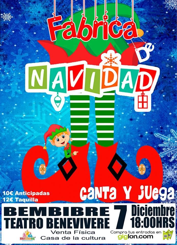 Fábrica de Navidad, espectáculo musical en el Benevivere de Bembibre 1