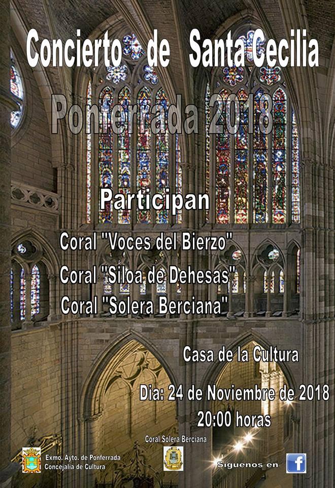 La casa de la Cultura de Ponferrada organiza el XXIII Concierto de Santa Cecilia 1