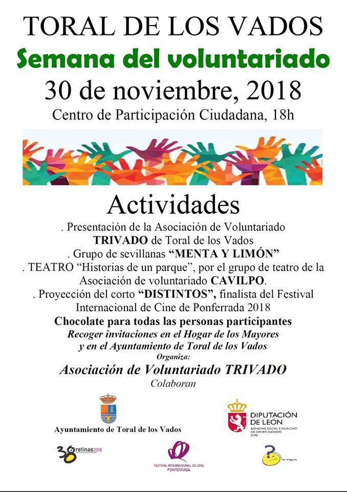 """Semana del voluntariado, presentación de la Asociación """"Trivado"""" 1"""